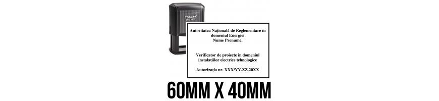 Ștampile ANRE - instalator autorizat gaze, verificator de proiecte, expert tehnic